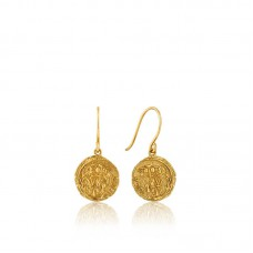 Emblem Hook Earrings S - 23972