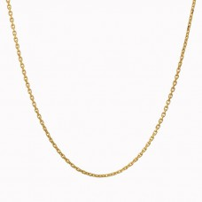 anker collier geelgoud - 23985