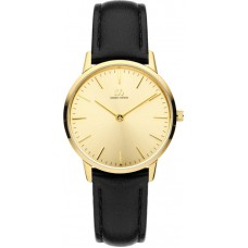 Danish Design Dames horloge, leren band - 22800
