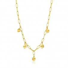 CRush Drop Discs Necklace M - 23634