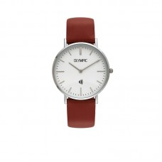 Olympic horloge Paywatch Slim staal Rood - 23515